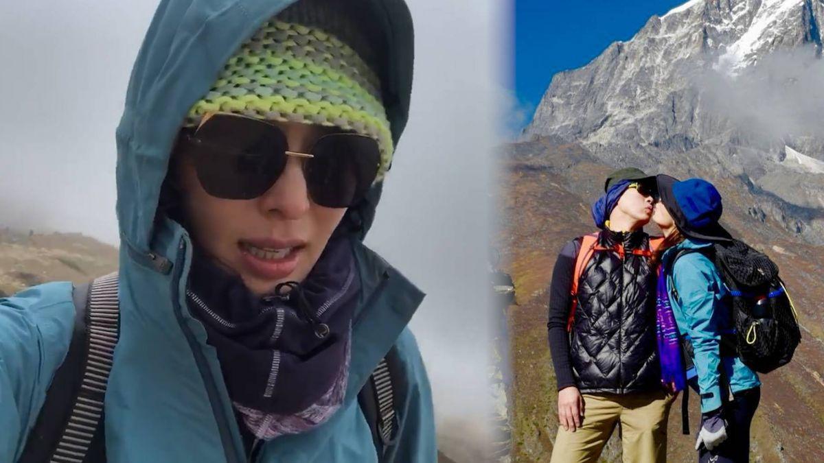 【影片】姐就是狂!賈永婕突破自我 攀5364公尺基地營竟靠喇舌慶祝