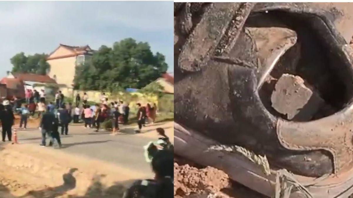 【影】送父出殯遇死劫! 7人回家路上遭大貨車衝撞活埋4人身亡