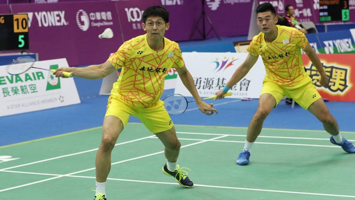 台北羽賽直落二勝出 雙麟配衛冕男雙冠軍