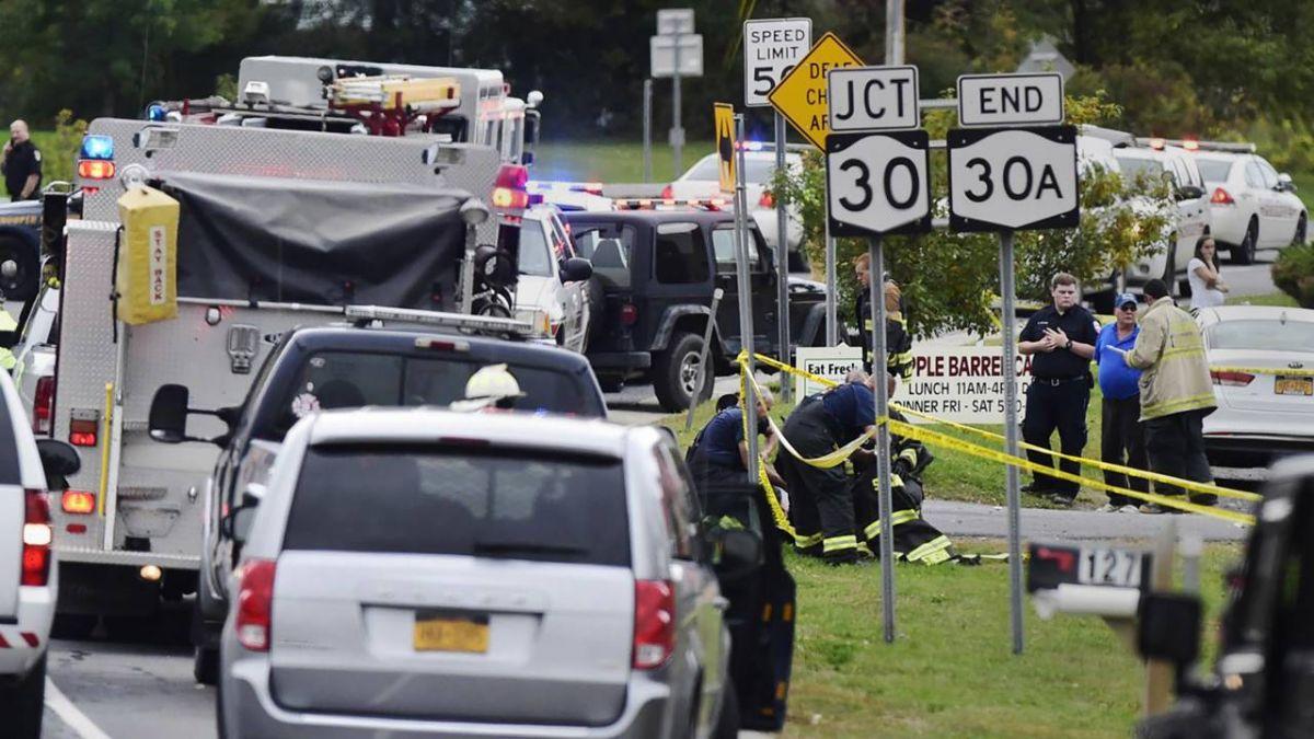 紐約州車禍釀20死 全美近十年最嚴重交通事故