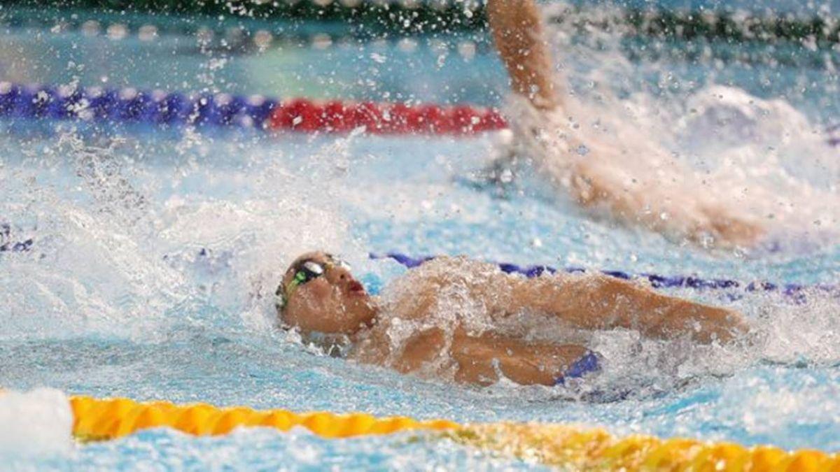 莊沐倫國際大賽開眼界  青奧游泳一百仰無緣決賽