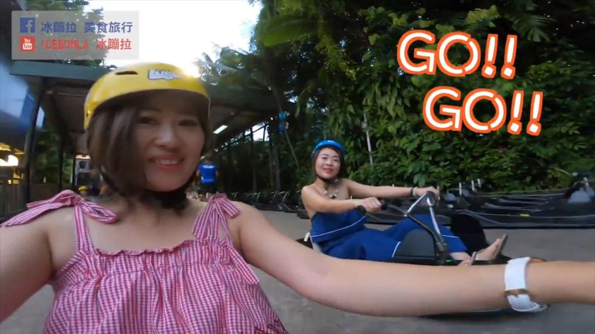 【影片】超激速!新加坡必玩斜坡滑車 空中吊椅俯瞰聖淘沙美景
