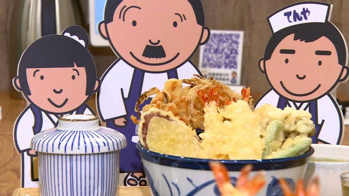 【影片】平價天丼插旗台北 每碗比日本多一尾炸蝦