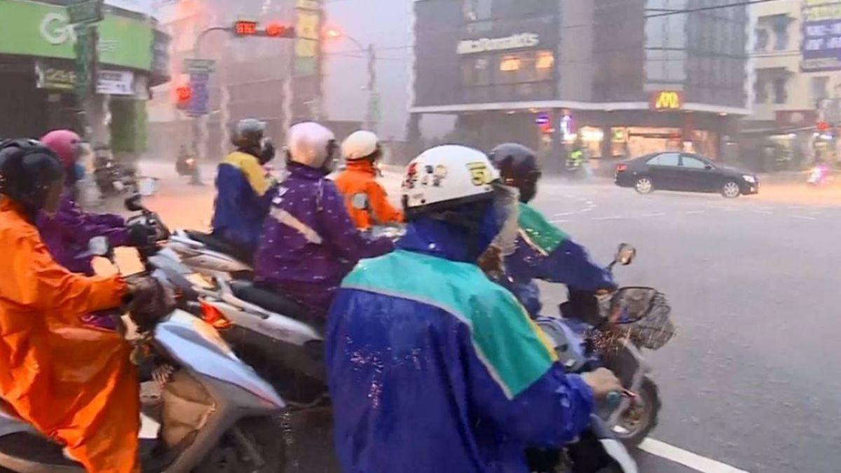 水氣多 新北基隆宜蘭防大雨豪雨