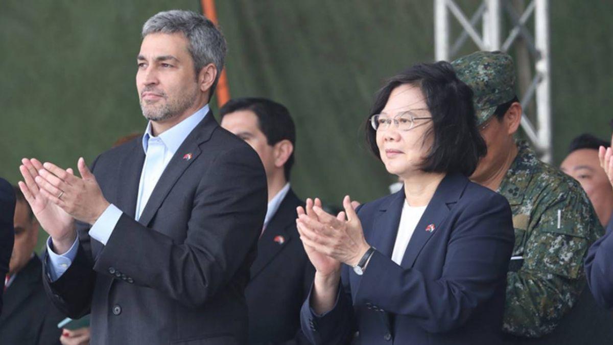 地空聯合作戰演訓 蔡總統與巴拉圭總統與會