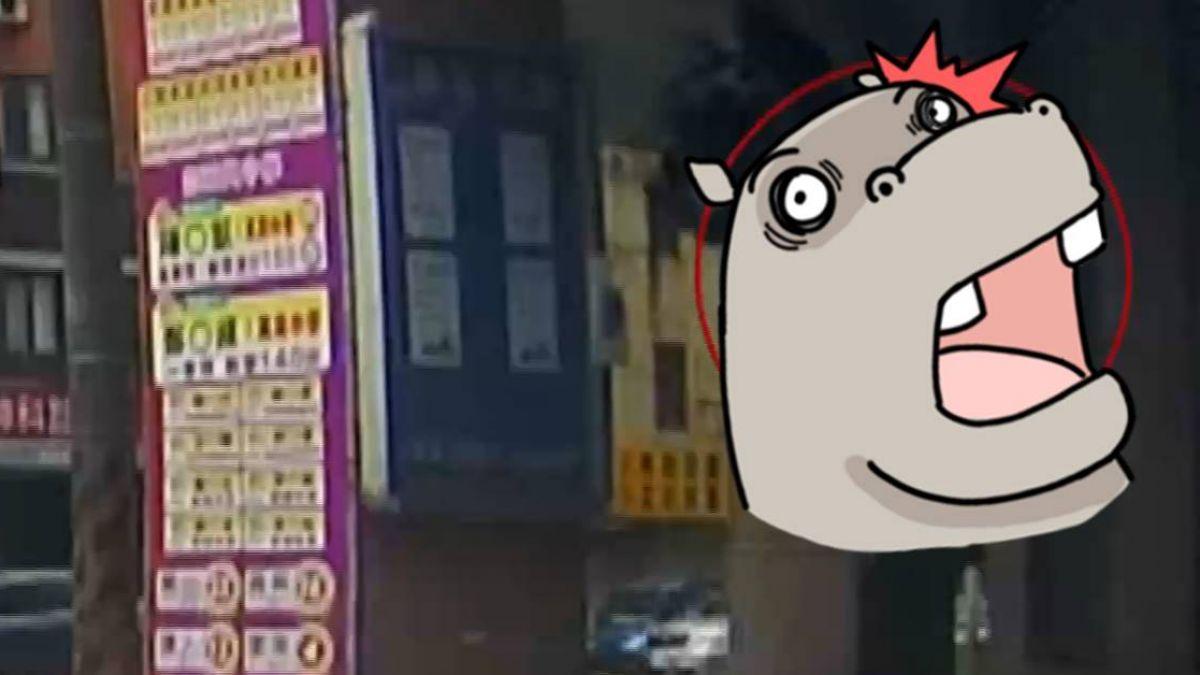 【影片】驚! 高速衝撞轎車 機車彈飛一樓高騎士重摔