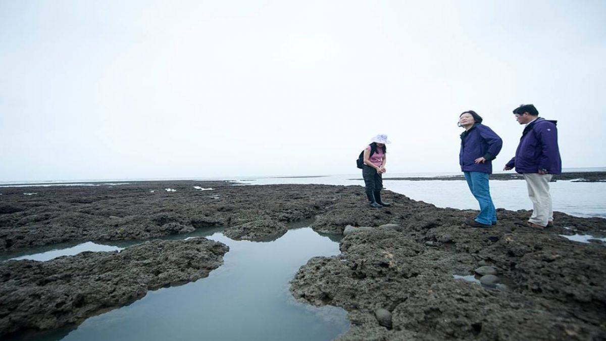 總統府:觀新藻礁非屬三接內!總統兌現已設保護區