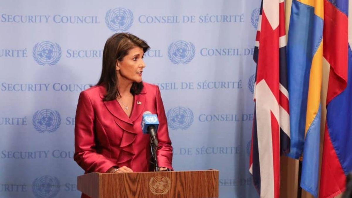 傳川普接受駐聯合國大使海利辭職