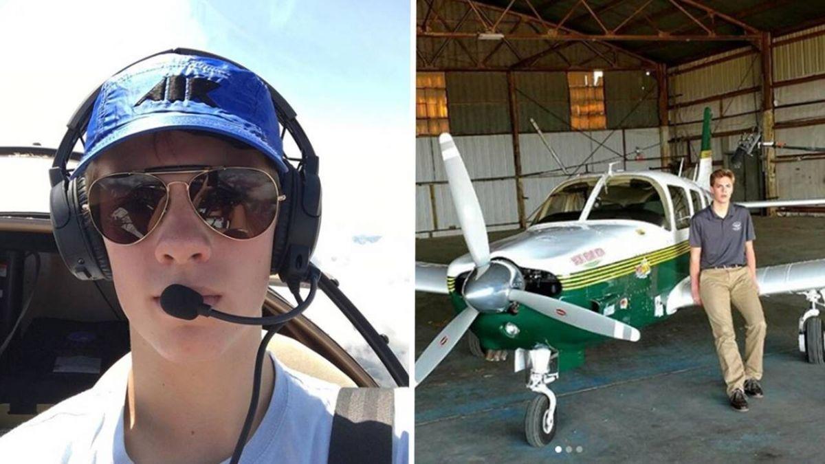 美18歲少年開飛機環球!誤闖台領空遭F–16攔截:酷斃了