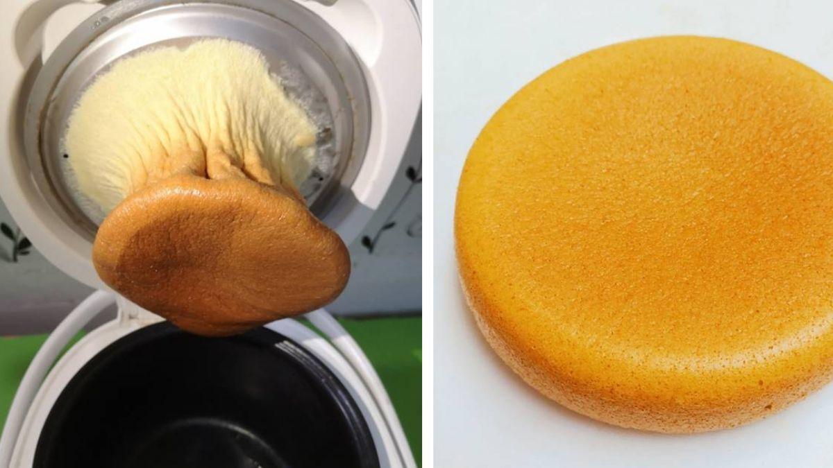 用不沾鍋做蛋糕…她打開驚見「杏包菇」!魔性外型網笑翻