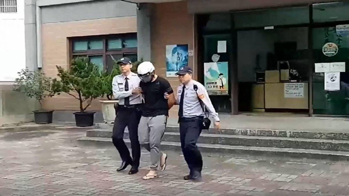 【影片】潑漆又開車衝撞茶飲店 囂張嫌稱:不滿服務態度!