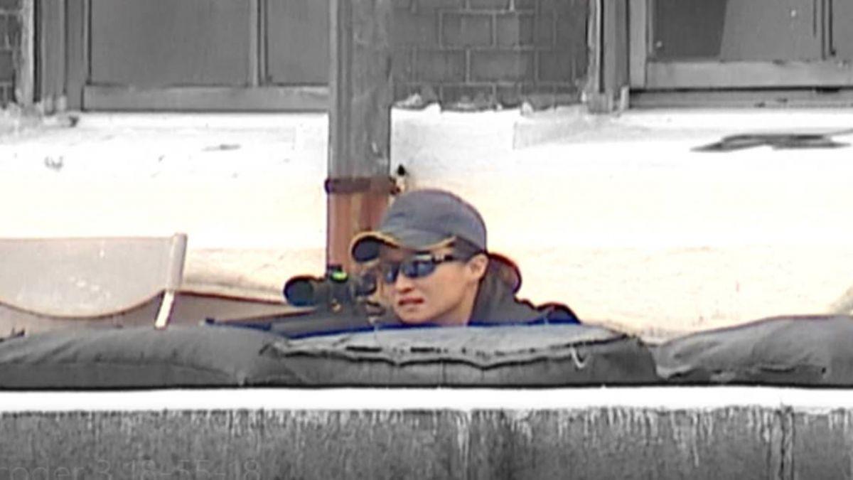 【影片】國慶典禮「女力」狙擊手首度曝光!警戒總統府前
