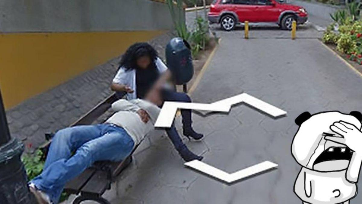 谷歌街景「綠光炸臉」!驚見熟悉人妻偷吃 放大更崩潰了