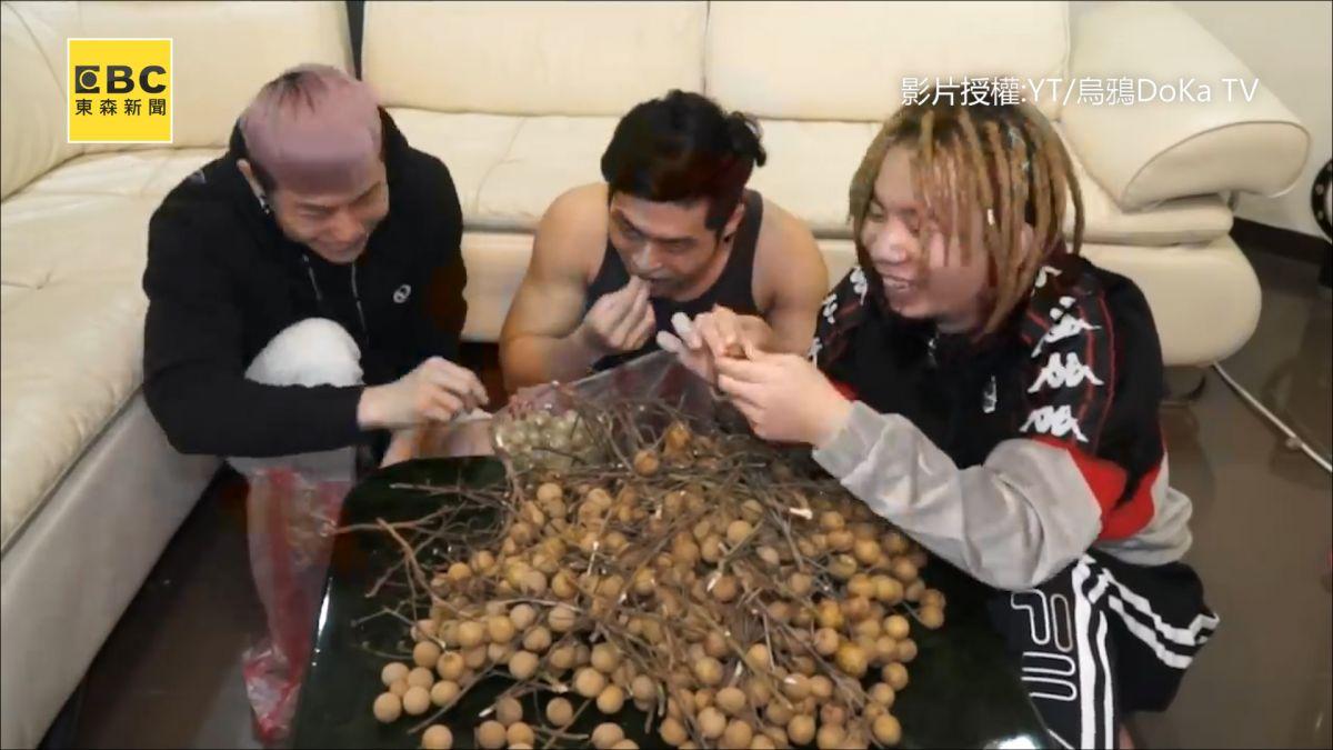 【影片】實測!吃龍眼真的會流鼻血 壯漢吃1000顆竟...?