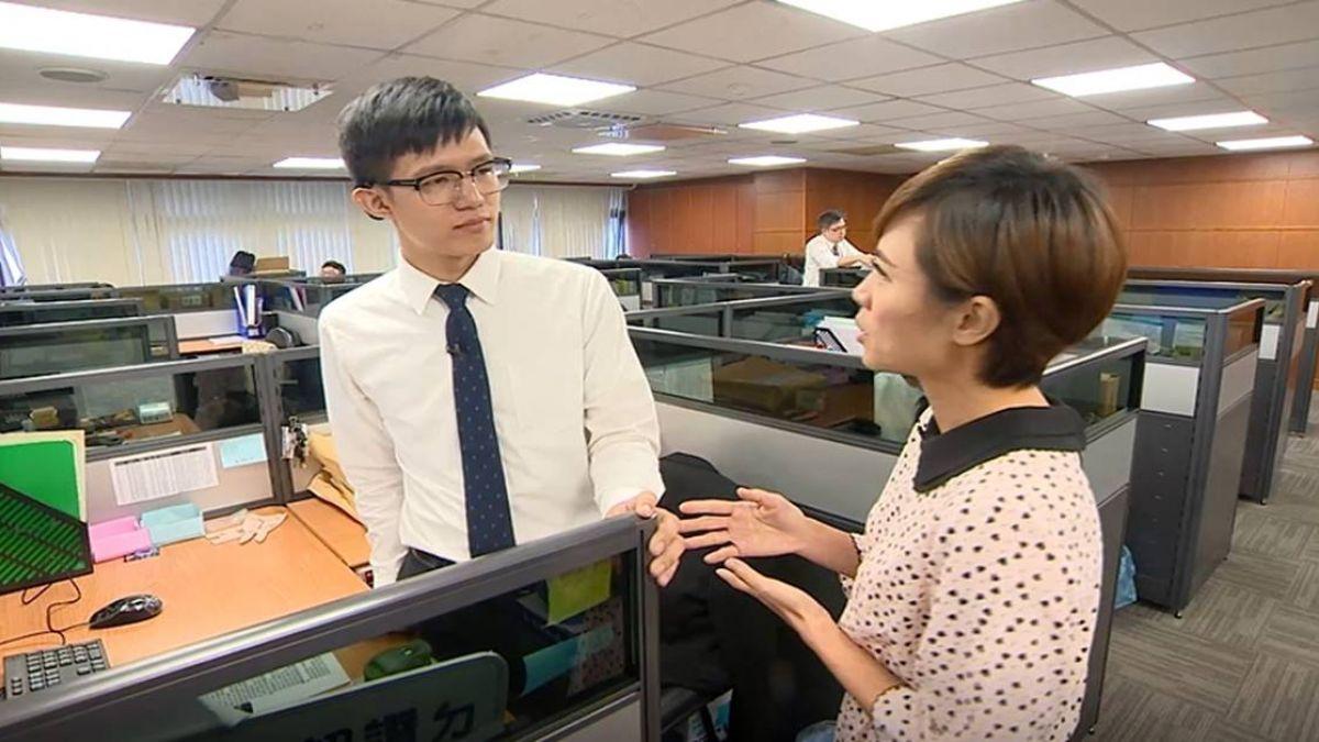 【影片】東森傳愛 主播來拜訪 聽損兒吳厚廷初入職場