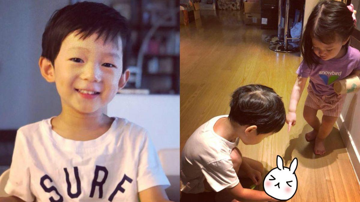 隋棠3歲萌寶「寵物」太驚奇 萬人嚇歪:身教很重要!
