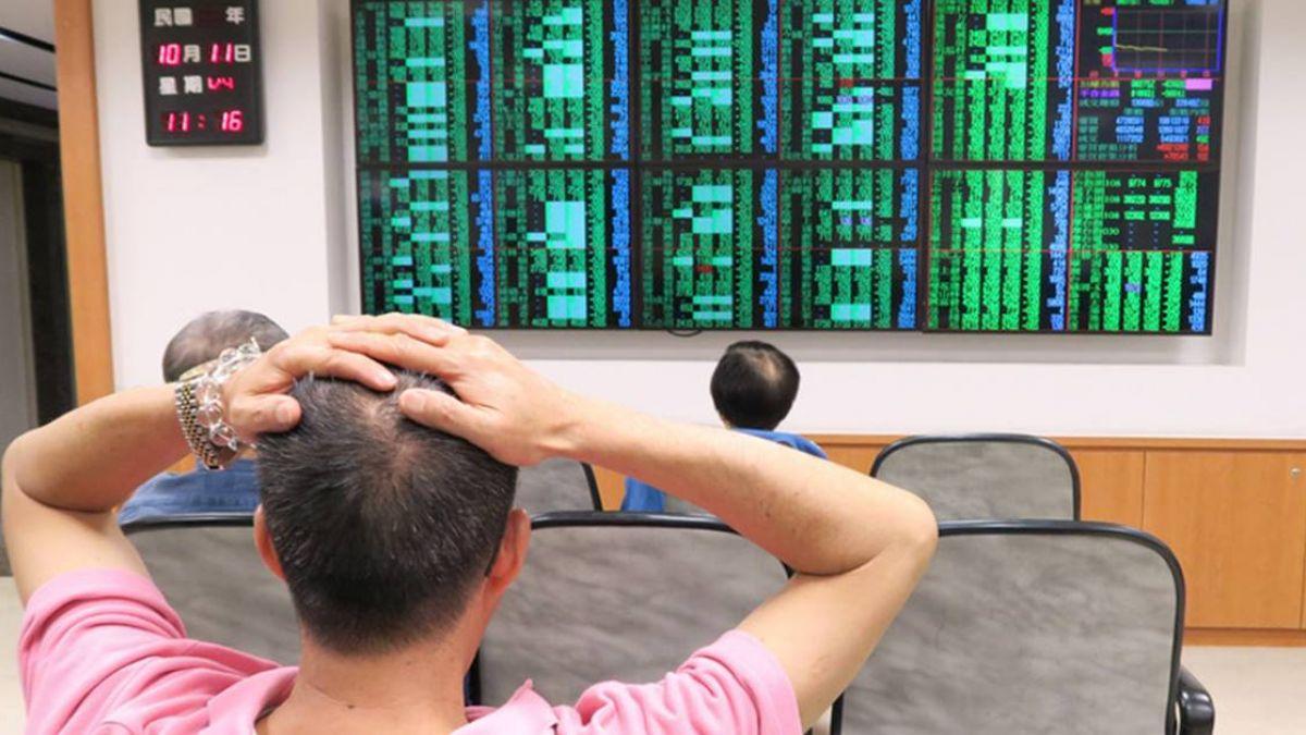 美股再重挫 台股反彈開盤小漲5.47點