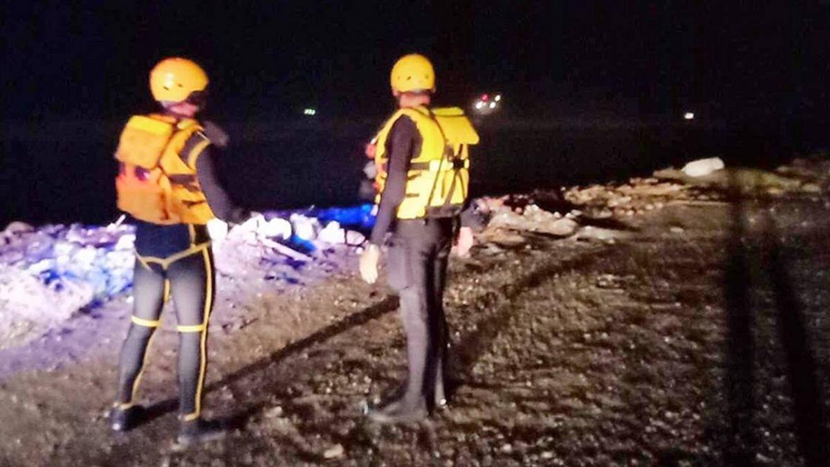 貨輪擱淺大園外海  國搜中心直升機馳援救人