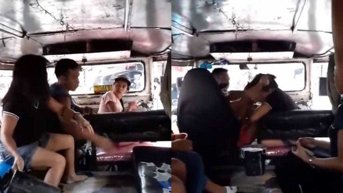 【影】老司機開車!抱小三坐大腿開公車 遭老婆抓包扯髮怒踹繼續開