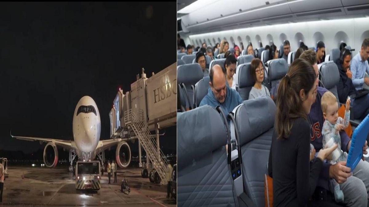 【影】全球飛最久航班!新航18小時直飛紐約
