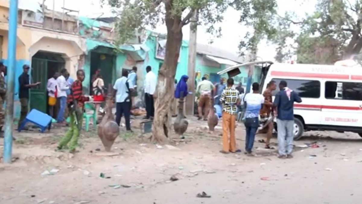 索馬利亞連環自殺炸彈攻擊 至少16死20傷