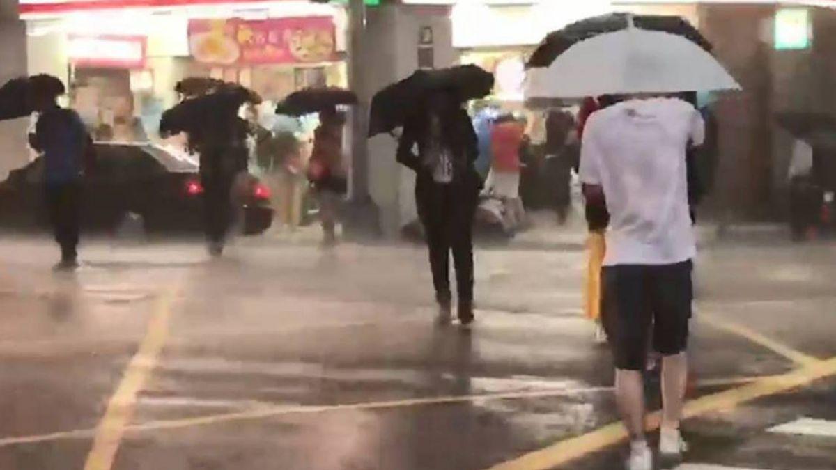 東北風影響 北台灣未來一週濕涼有雨