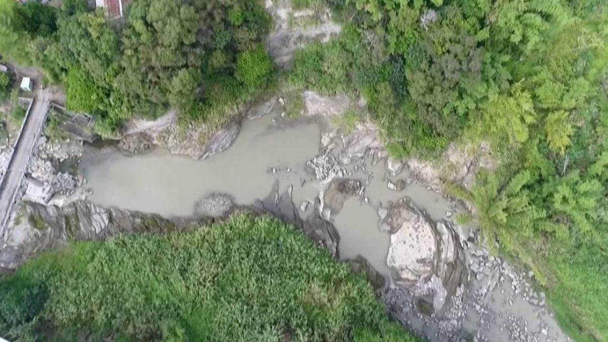 【影片】台中東勢沙連溪 水面平靜但潭底藏凶猛暗流