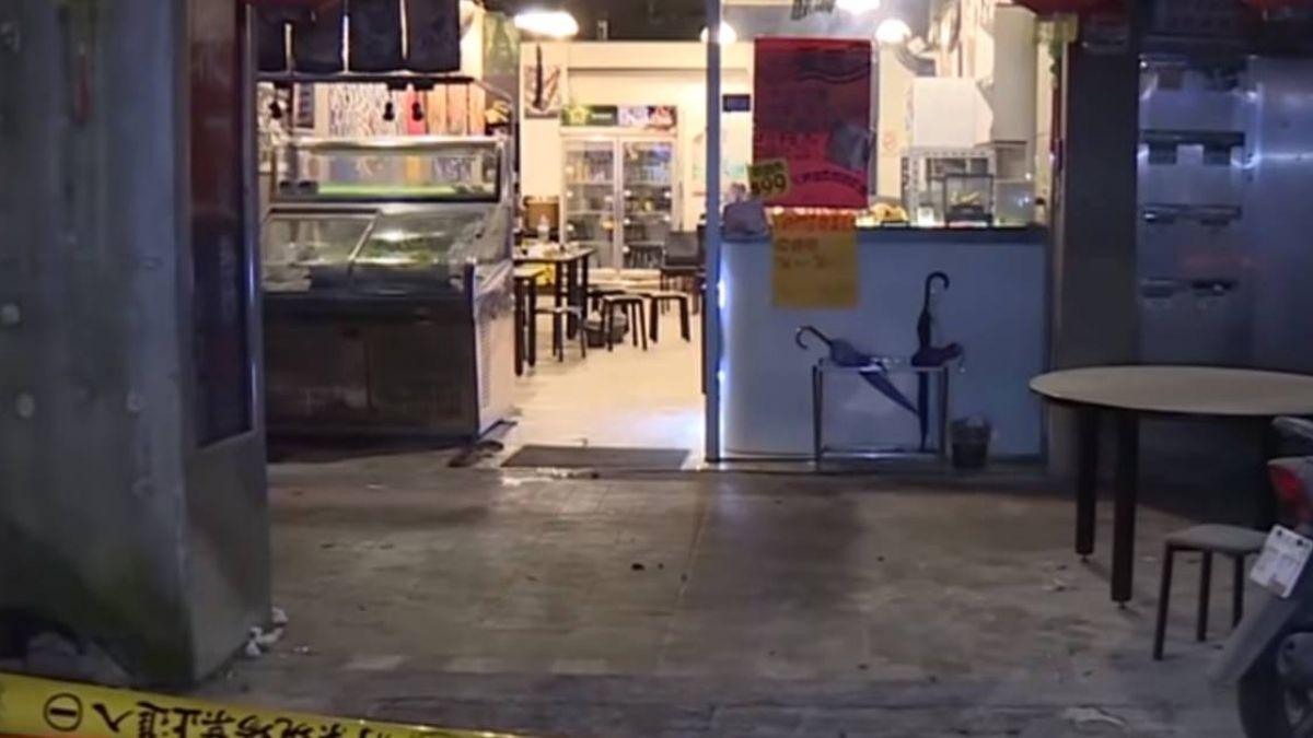 【影片】熱炒店夜驚魂!20人互毆傳槍響 民眾驚:以為半夜娶新娘