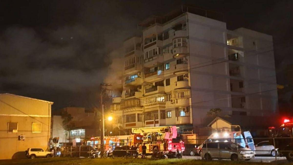 【影片】花蓮公寓暗夜惡火 疑除濕機自燃釀災