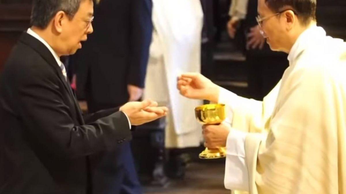 為台灣祈福彌撒 陳建仁傳遞兩岸和平訊息