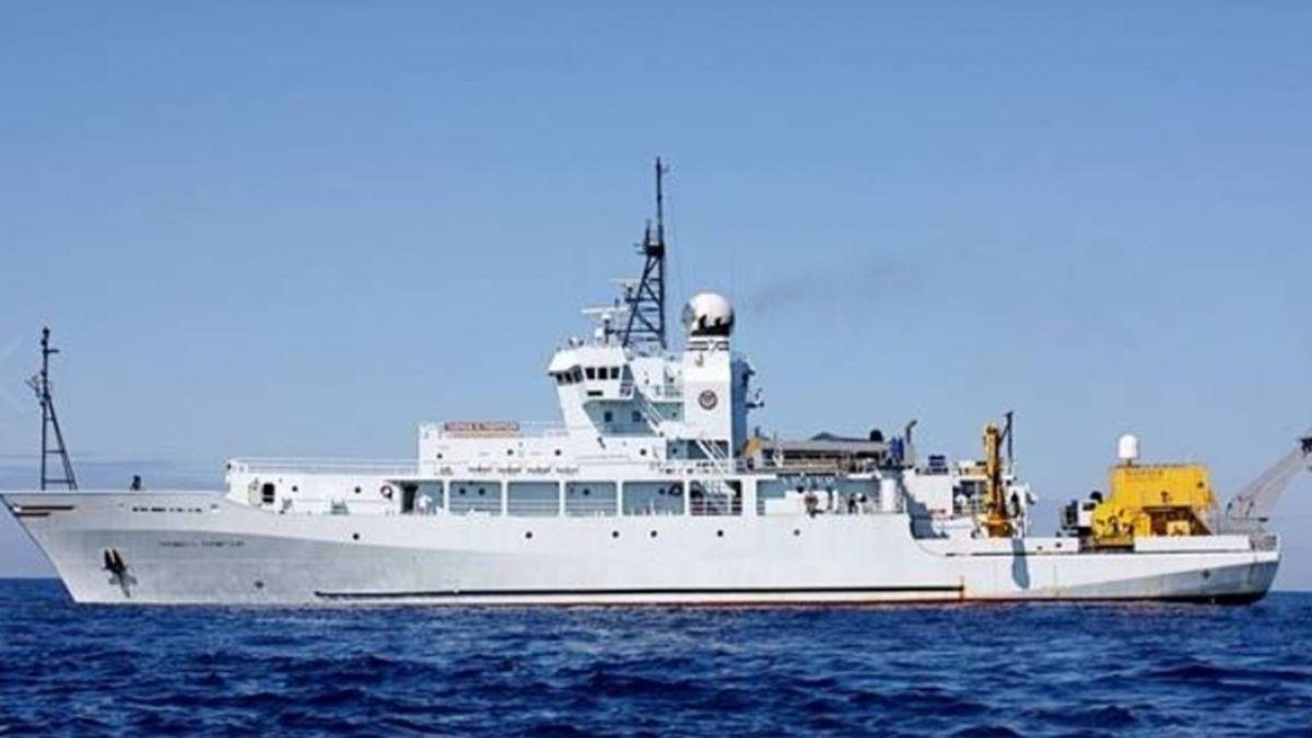 敏感時機?美海軍科研船泊高雄港 目的曝光