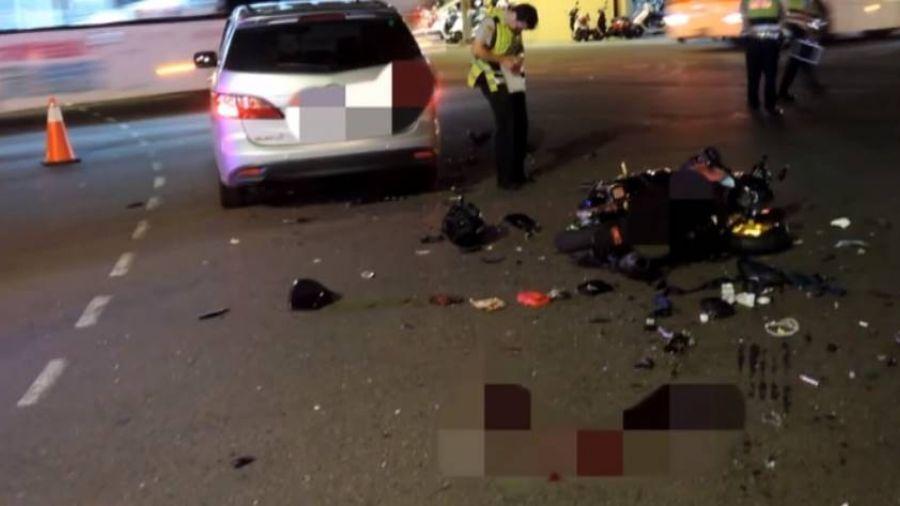 21歲男大生赴西門町收攤 遭轉彎女駕駛撞死